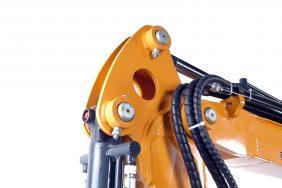 Minibagr JH 22 detail oko