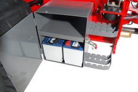 Kolový Nakladač HZM 825 Detail Baterie