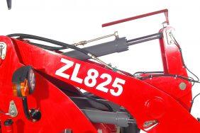 Kolový Nakladač HZM 825 Detail Výložník Zprava