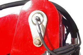 Nakladač HZM 825 Detail Mazání 2