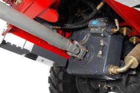 Nakladač HZM 825 Detail Převodovka