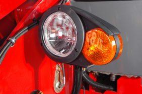Nakladač HZM 825 Detail Světlo