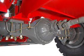 Nakladač HZM 825 Detail Zadní Náprava