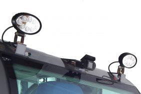 Nakladač HZM 825 Zadní Pracovní Světla