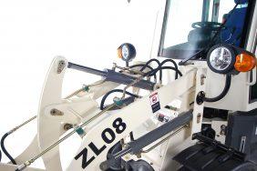 Nakladač ZL 08 Road detail z kinematika